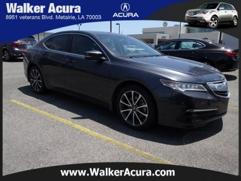 Pre-Owned 2015 Acura TLX 3.5L V6 4D Sedan in Metairie #19280AP ...