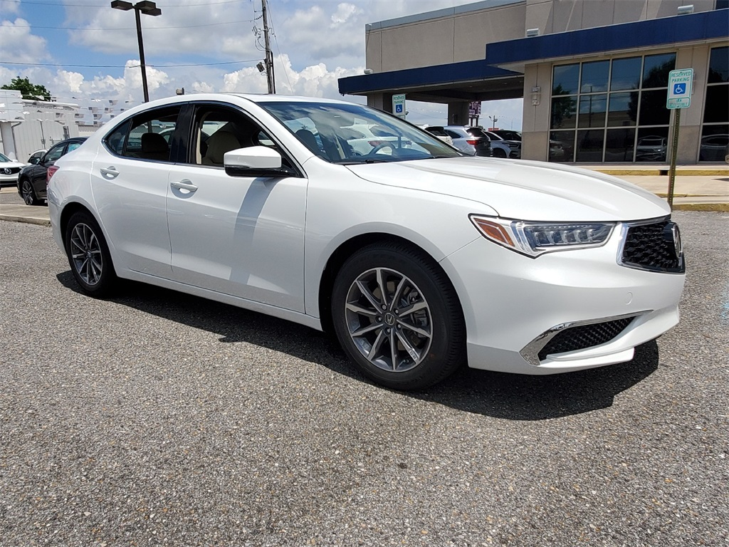 New 2020 Acura Tlx Base 4d Sedan In Metairie Z749 Walker Acura
